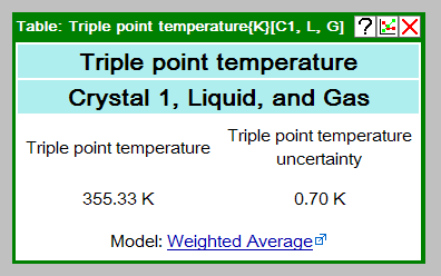 Screenshot of Single-Point property window